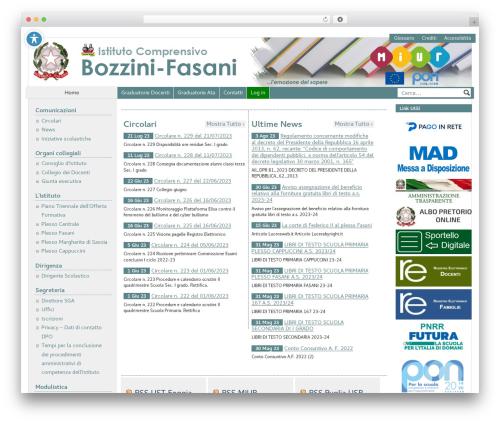 PASW 2015 WordPress page template - ic-bozzinifasani-lucera.net