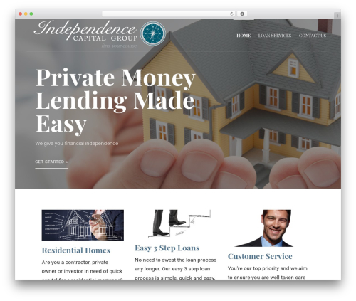 Primer free WordPress theme - independencecapitaltx.com