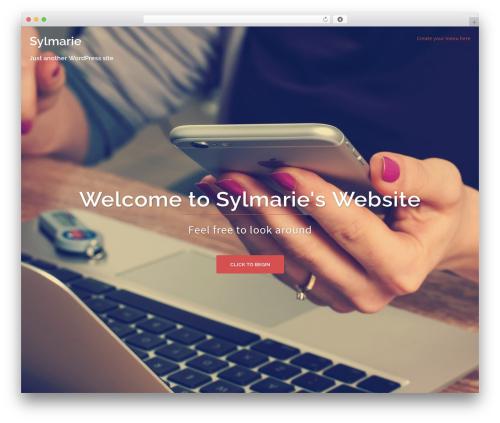 Sydney free WordPress theme - isylmarie.com