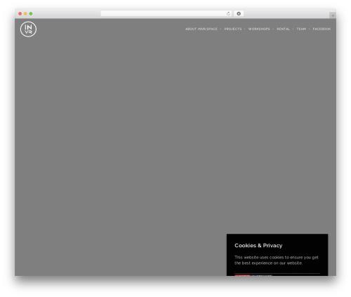 Template WordPress Brooklyn - invr.space