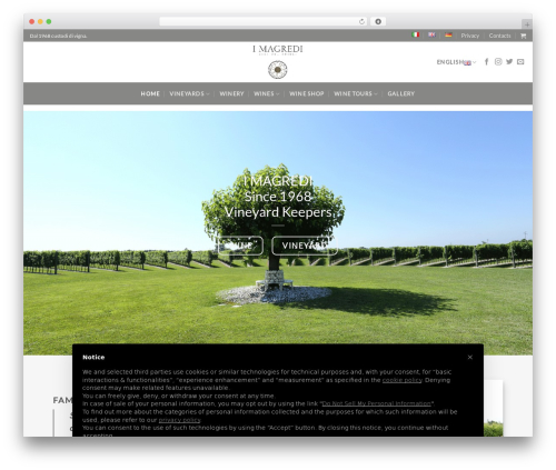 WordPress theme Flatsome - imagredi.com