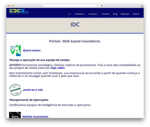 WP Doppio best WordPress template - idc.com.br