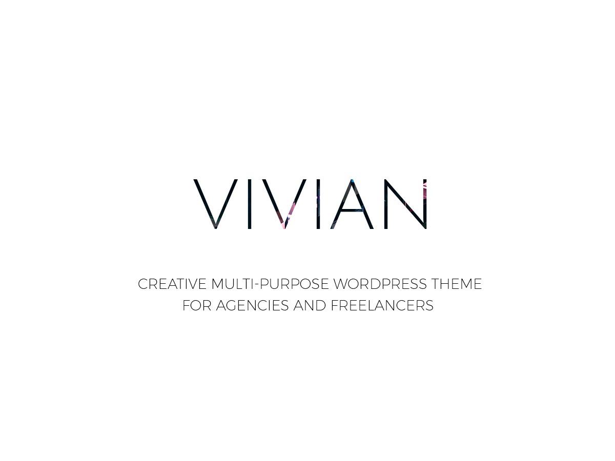 WP template Vivian