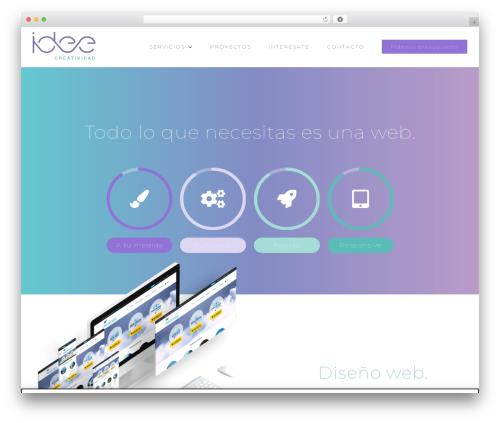 Avada WordPress theme design - idee-creatividad.es