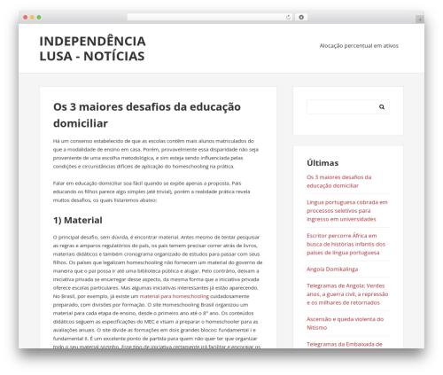 BasePress template WordPress free - independenciaslusa.info
