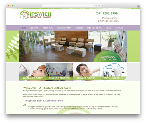 Headway Base WordPress page template - ipdentalcare.com.au