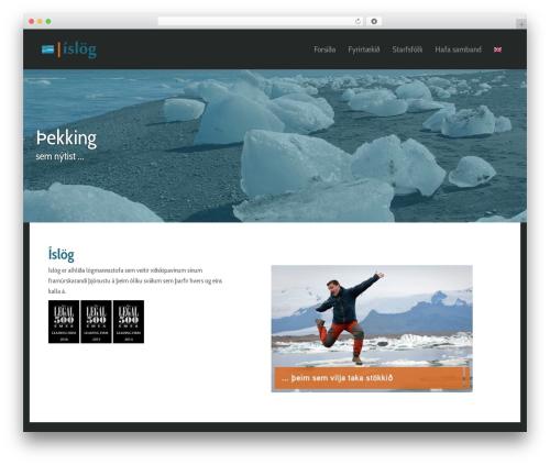 Free WordPress WP Header image slider and carousel plugin - islog.is