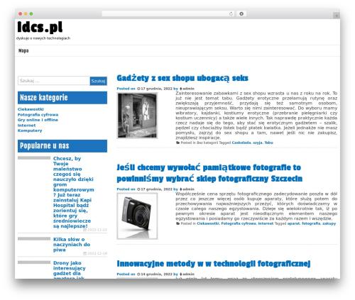 Mina free WP theme - idcs.pl