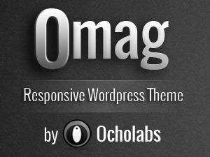OMAG WordPress website template