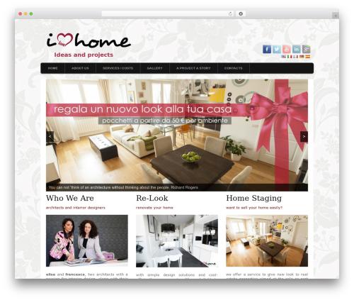 Orion best WordPress template - ilovehome.it