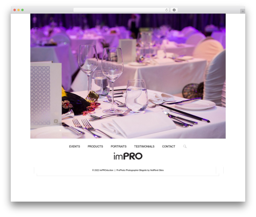 ProPhoto best WordPress template - im-production.hk