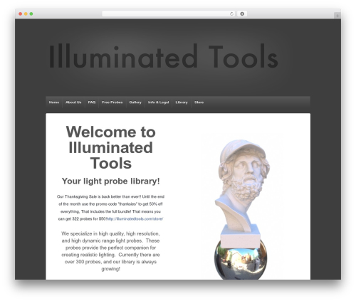 Responsive WordPress theme free download - illuminatedtools.com