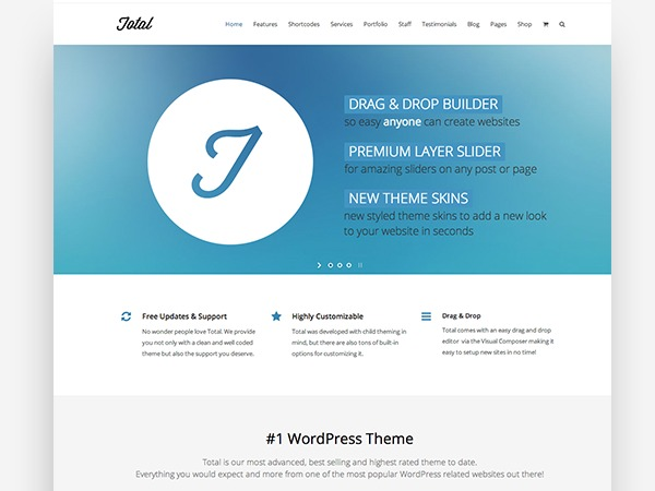 Total Child best WordPress theme