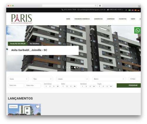 Vista Floripa WordPress theme - imobiliariaparis.com.br
