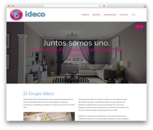 WordPress template Reload - idecogrupo.com