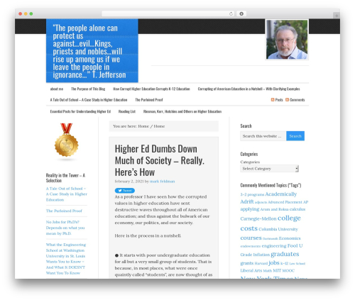 WordPress theme eleven40 Child Theme - inside-higher-ed.com