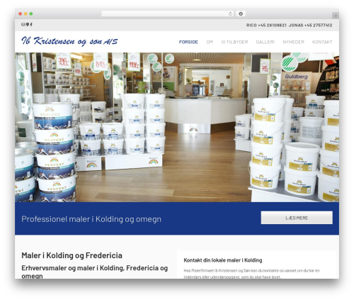 WordPress theme Megalith - ibkristensen.dk