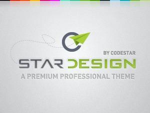 WordPress website template CStar Design WordPress Theme   Shared By themes24x7.com