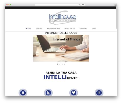 WordPress website template Subway - intellihouse.it