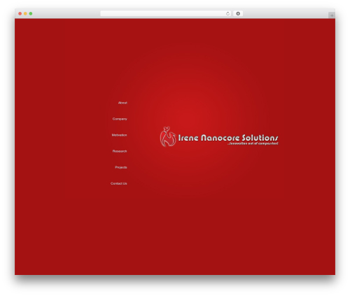 BusinessCard company WordPress theme - incs.co.in