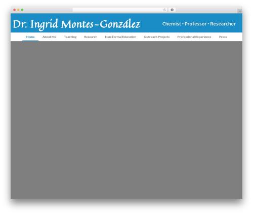 Clean Education Pro theme WordPress - ingridmontes.org