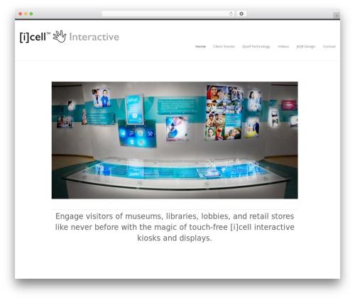 Klasik WordPress shop theme - icellinteractive.com