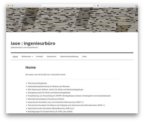 Mercia template WordPress free by ThemeZee - page 3