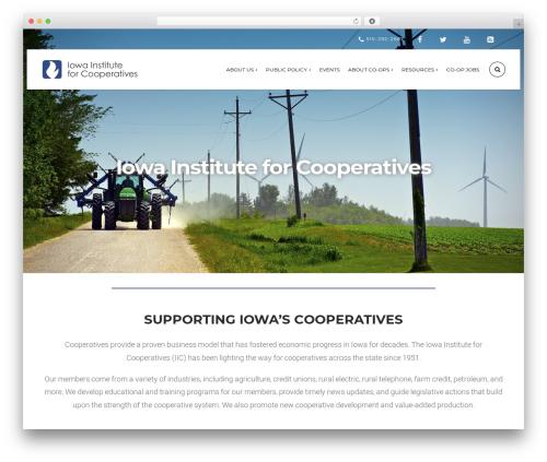 Theme WordPress Church Suite - iowainstitute.coop