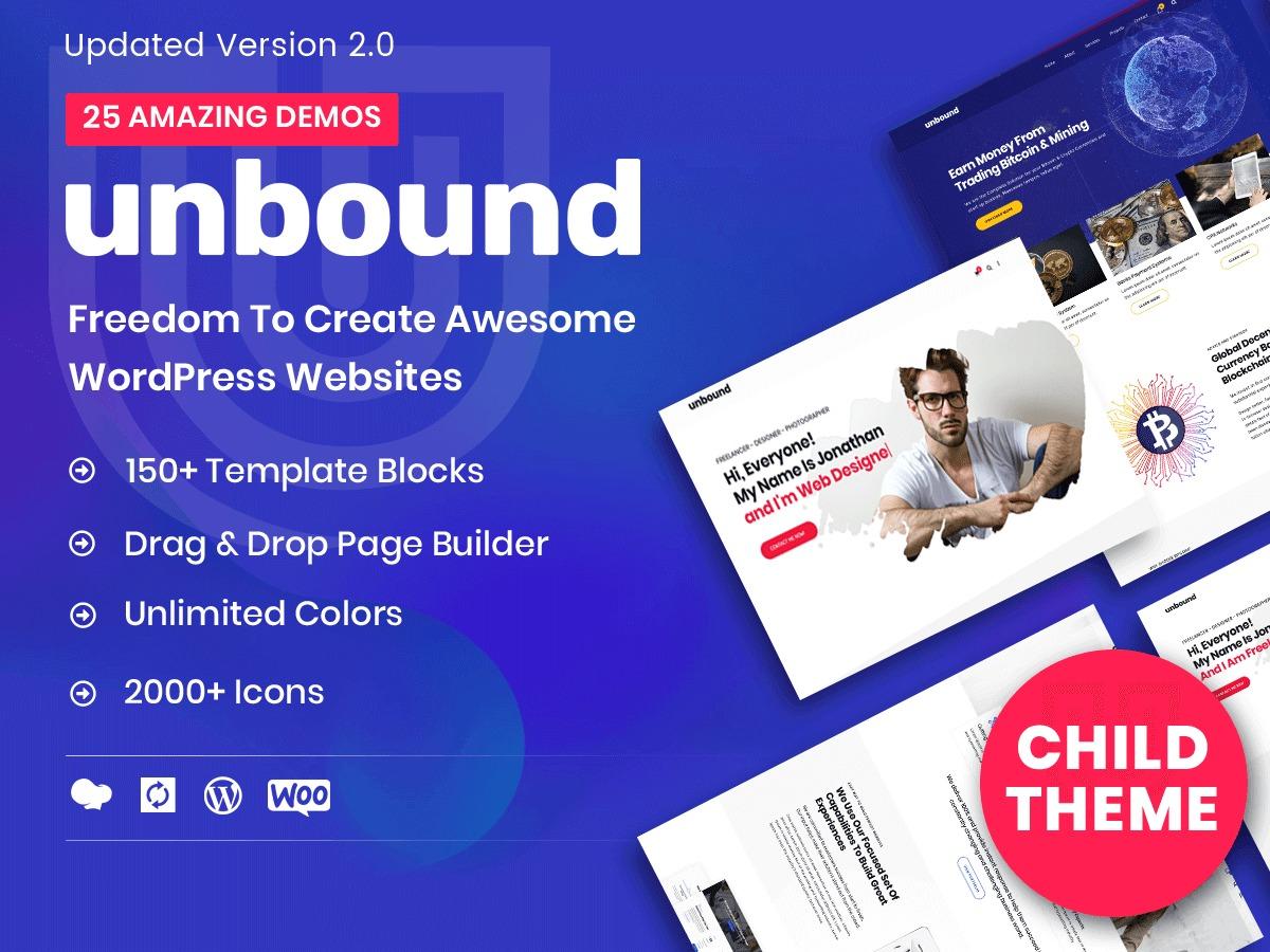 Unbound Child template WordPress