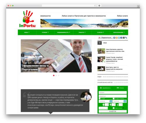 UrbanNews WordPress news theme - inportu.com