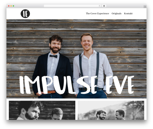 Divi WordPress theme design - impulse-eve.com