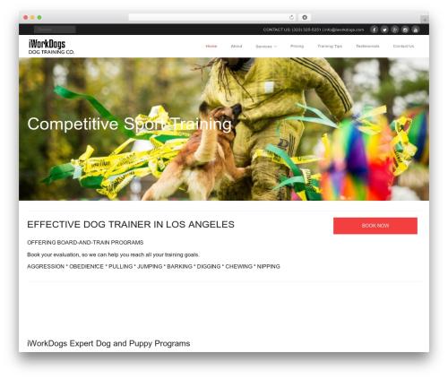 WordPress callout-bar plugin - iworkdogs.com