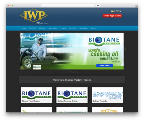 Stealth WordPress theme - iwpusa.com