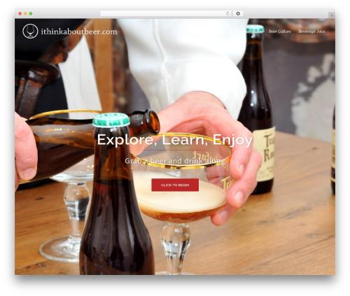 Sydney WordPress theme download - ithinkaboutbeer.com