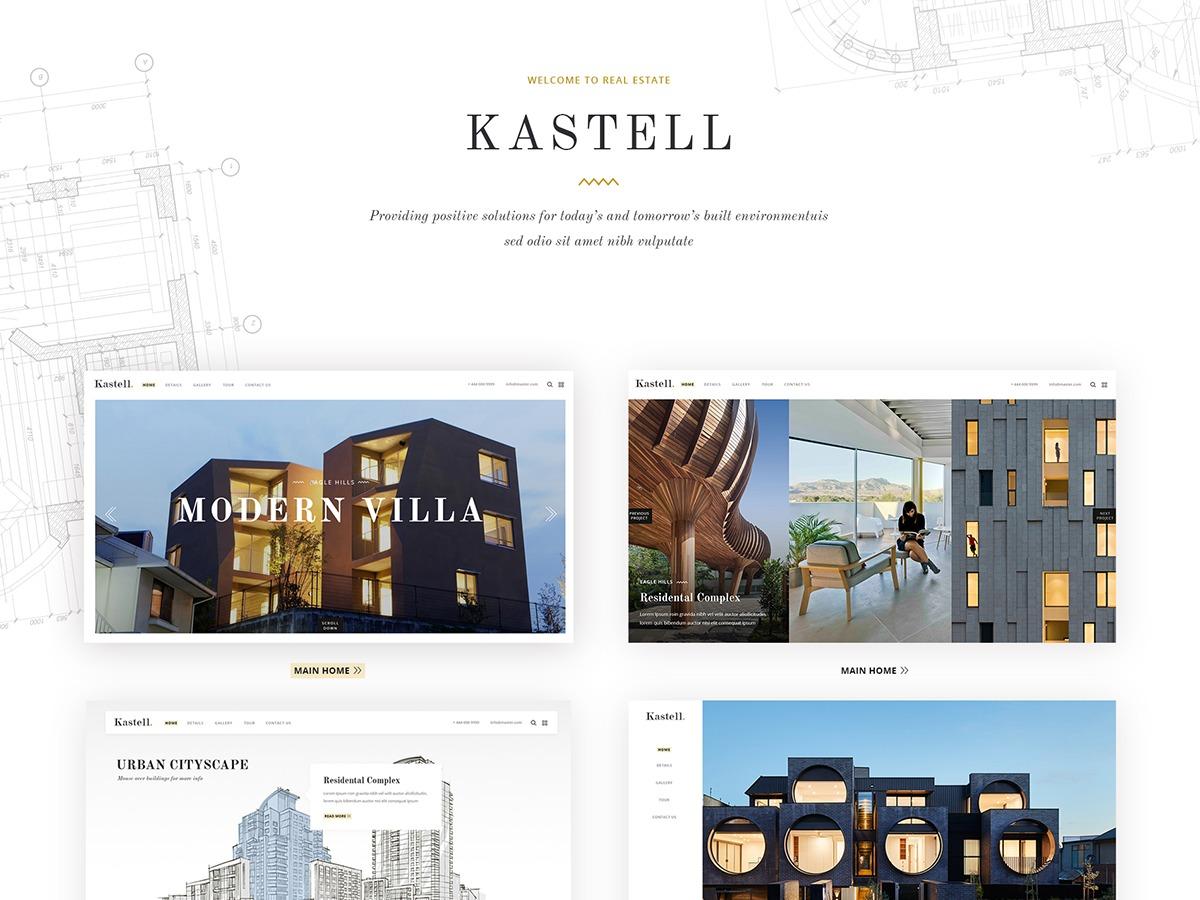 Theme WordPress Kastell