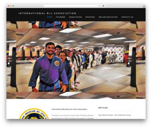 Encase best free WordPress theme - internationalbjjassociation.com