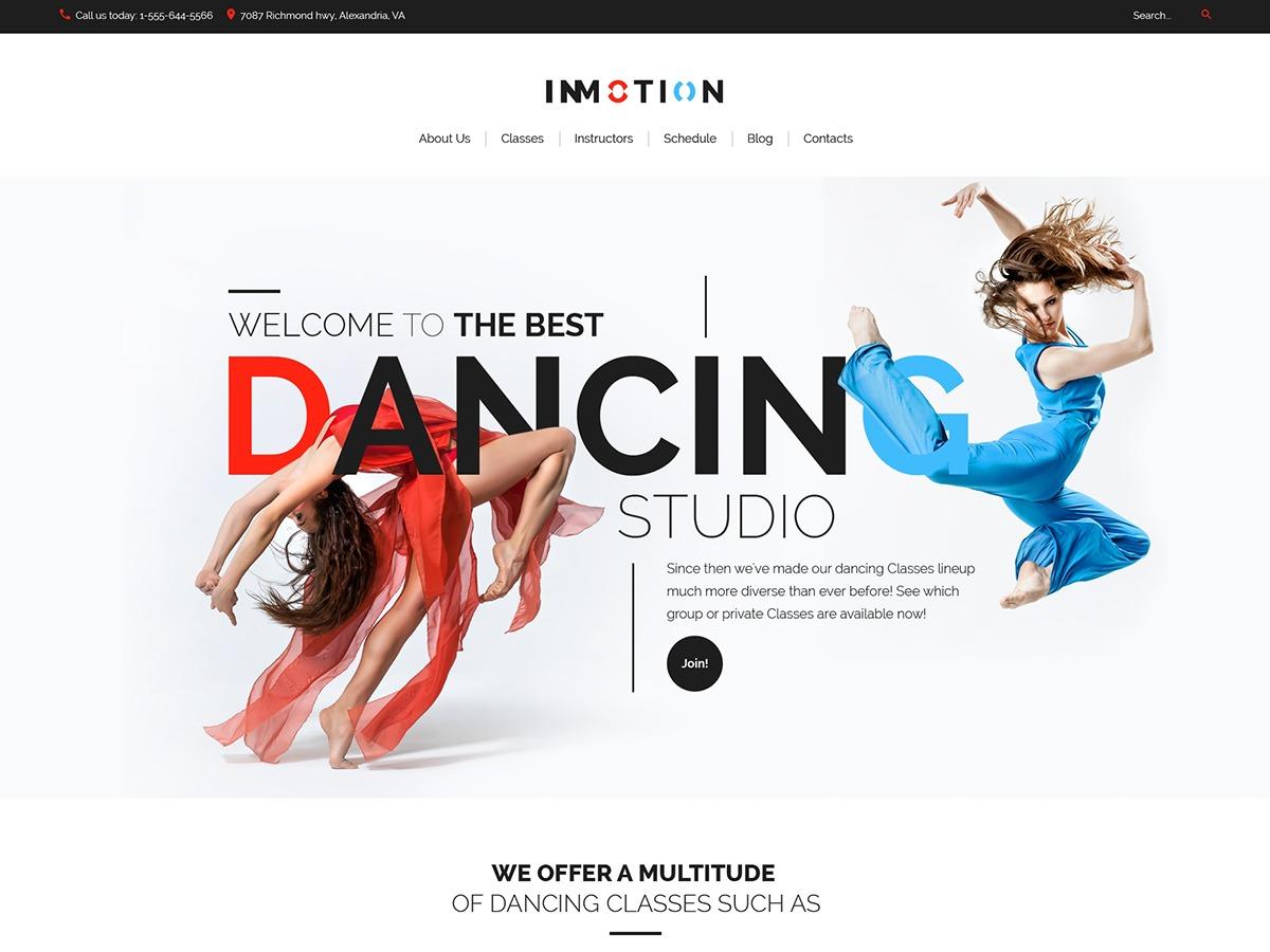 Inmotion best WordPress template