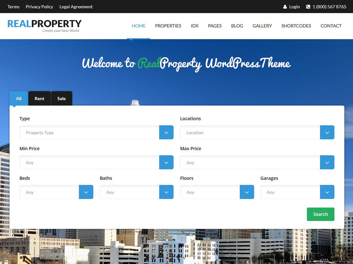 RealProperty best WordPress gallery