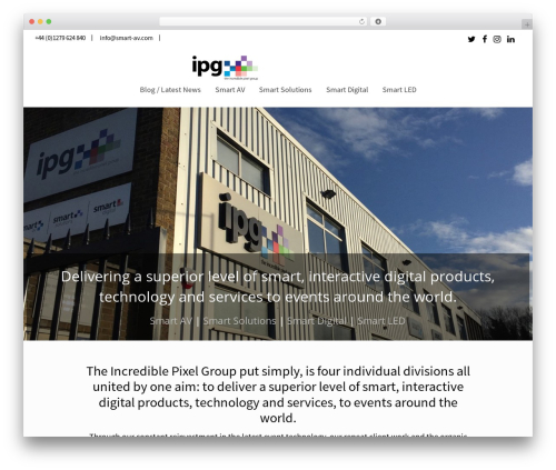 Reload WordPress template - ipgroup.co.uk
