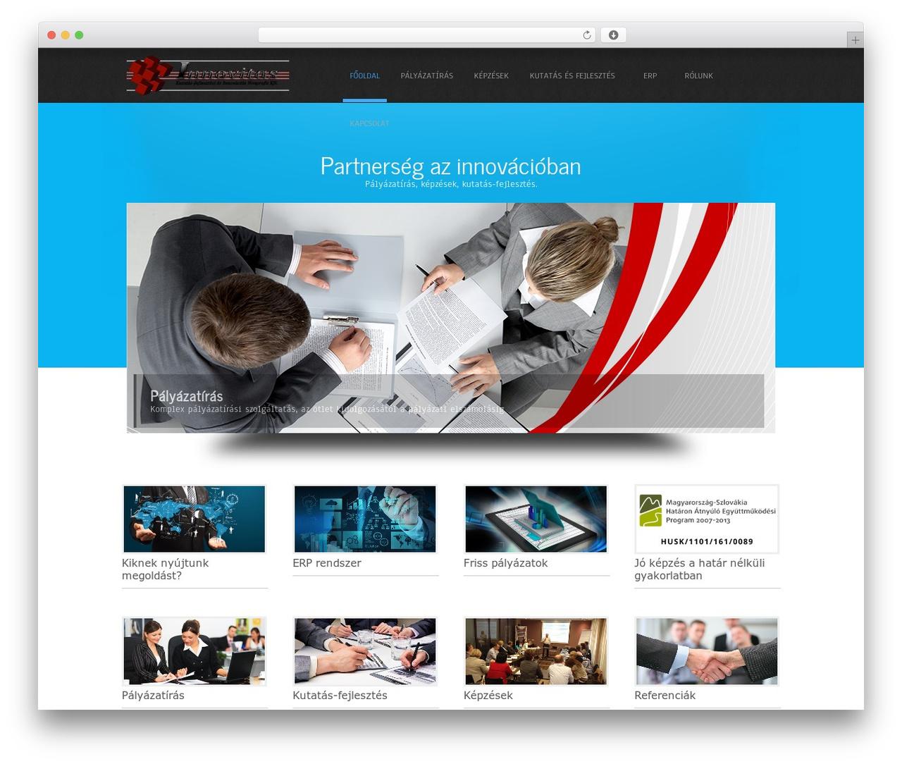 Simplicity Lite theme WordPress free - innovitas.hu