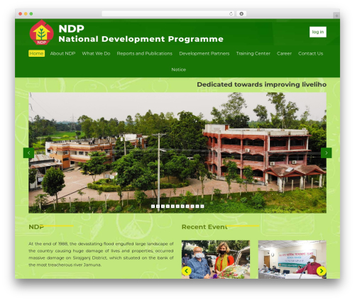 Template WordPress The7 - ndpbd.org