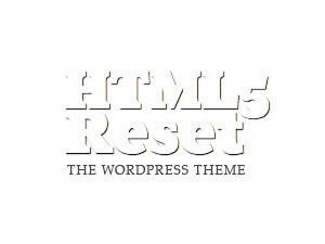 The HTML5 Reset Theme template WordPress