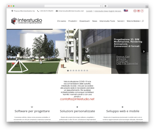 WordPress theme The7 - interstudio.net