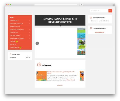 WordPress theme TownPress - imaginepanaji.com