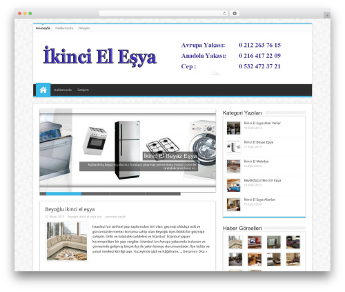 WordPress website template Sahifa (shared on wplocker.com) - ikincielesya.gen.tr