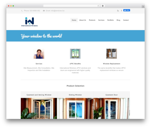 Centindu Portfolio, Business & eCommerce personal blog example - iwindows.biz
