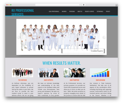 D5 Business Line Extend company WordPress theme - imeproservices.com