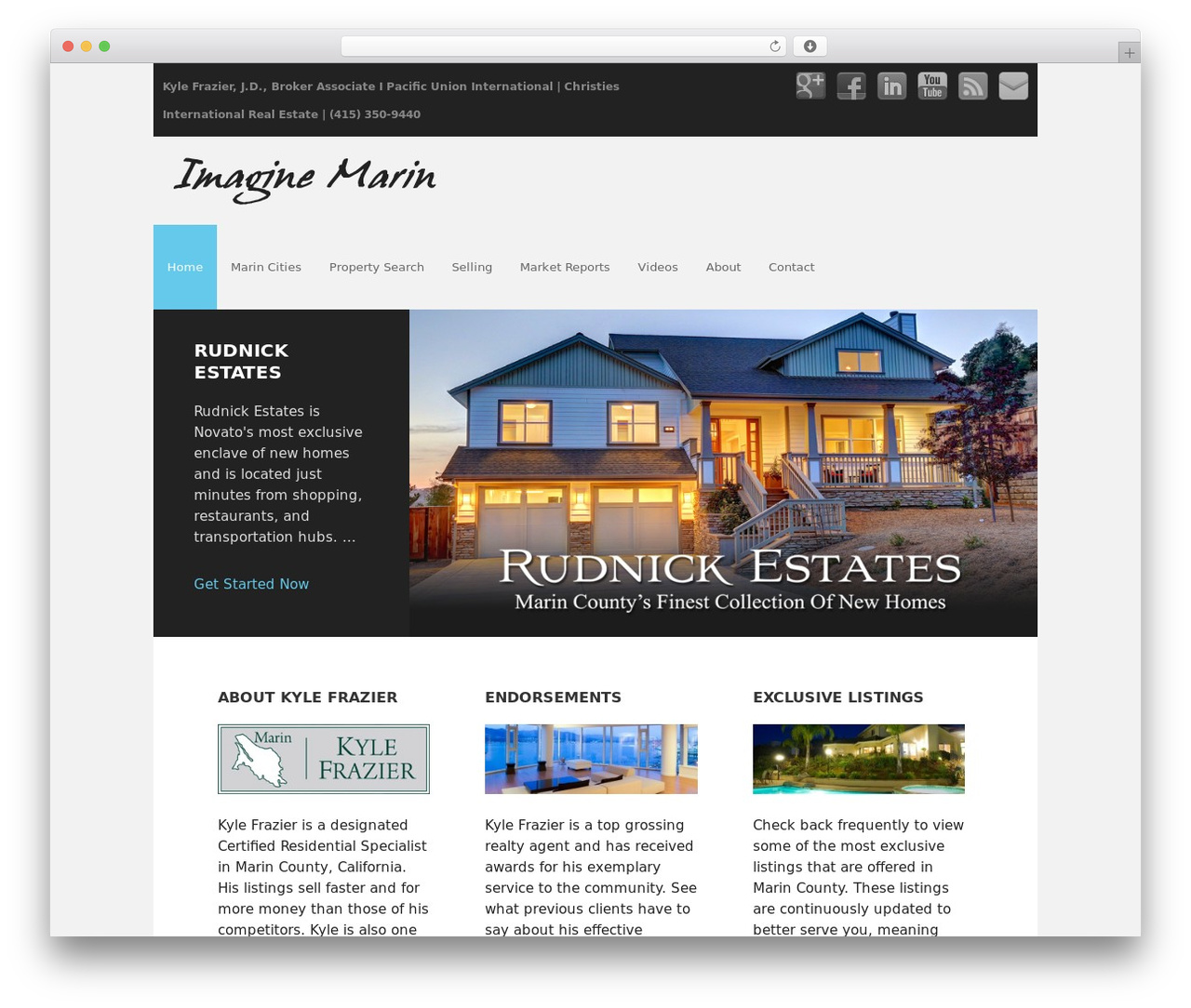 Executive Child Theme WP theme - imaginemarin.com