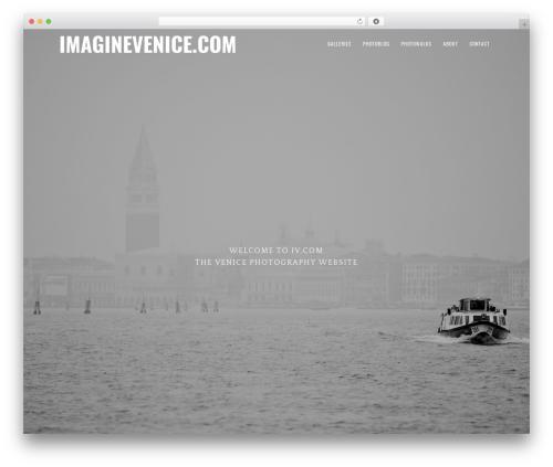Genesis WordPress shop theme - imaginevenice.com