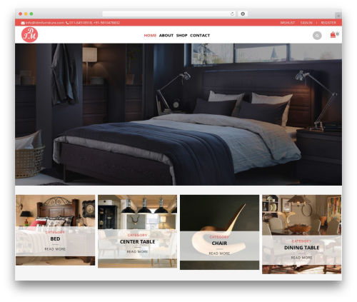 IDM Furniture WP template - idmfurniture.com